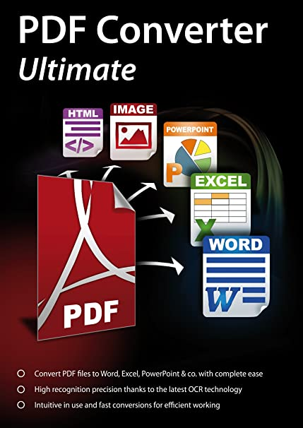 PDF Converter Ultimate - Convert PDF files to Word, Excel, PowerPoint & co   with complete ease for Windows 10 / 8 1 / 8 / 7