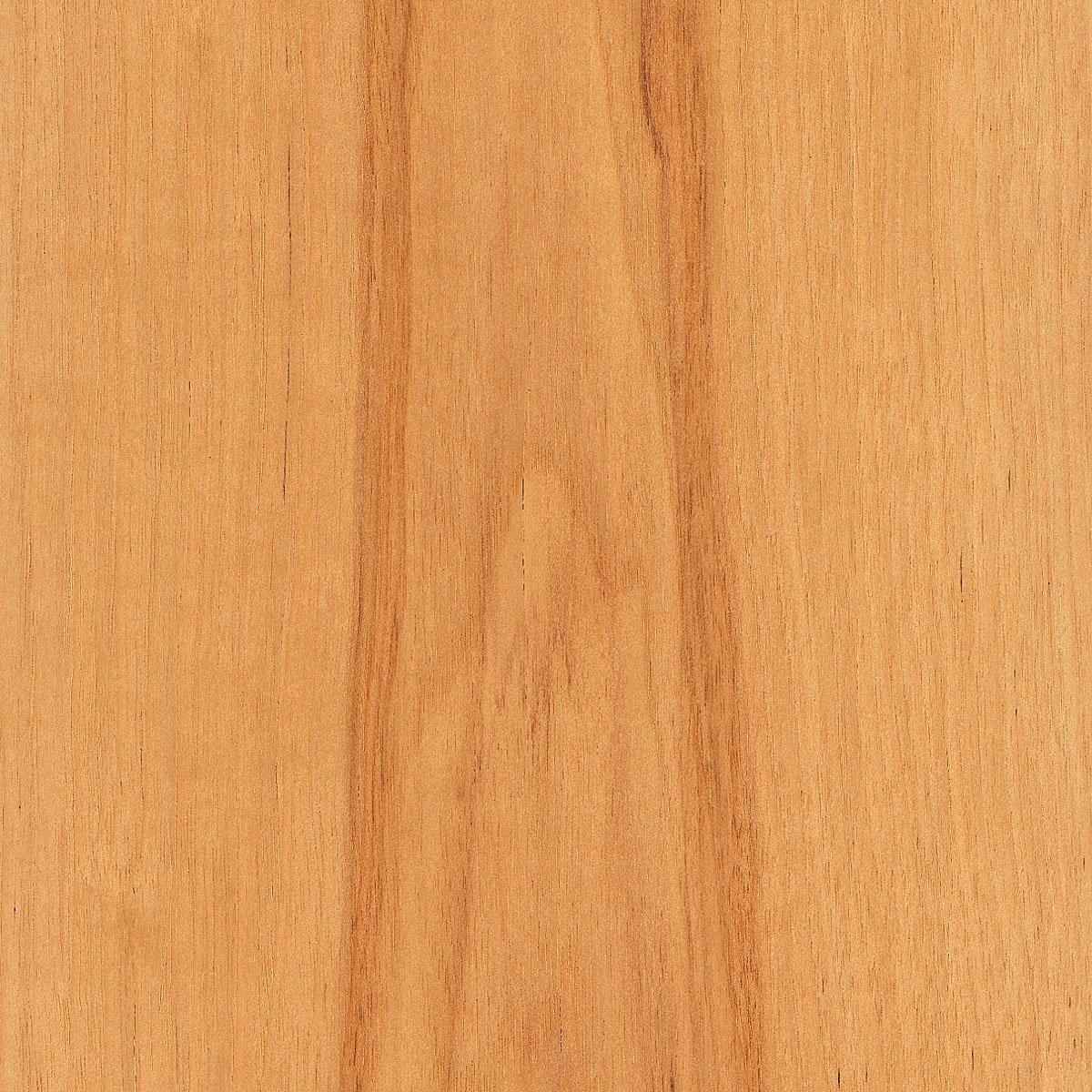 Hickory Wood Veneer Plain Sliced Calico 2'x8' 10 mil Sheet