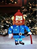 "Rudolph & Friends Yukon Cornelius 24"" 3-D Tinsel Christmas Decoration Yard Art"