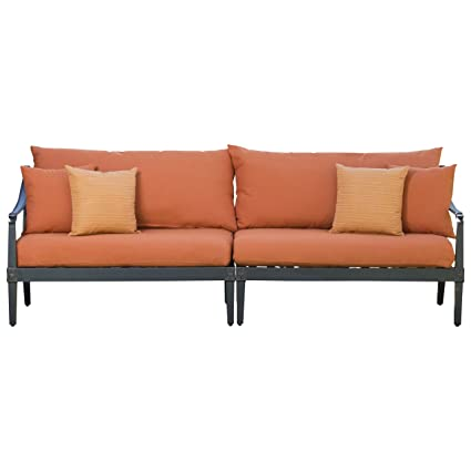 Amazon.com: RST marcas Astoria 2-Piece sofá con almohadillas ...