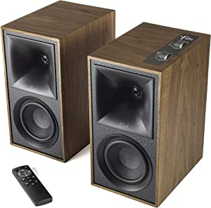 Klipsch The Fives Powered Speaker System with HDMI-ARC in Walnut