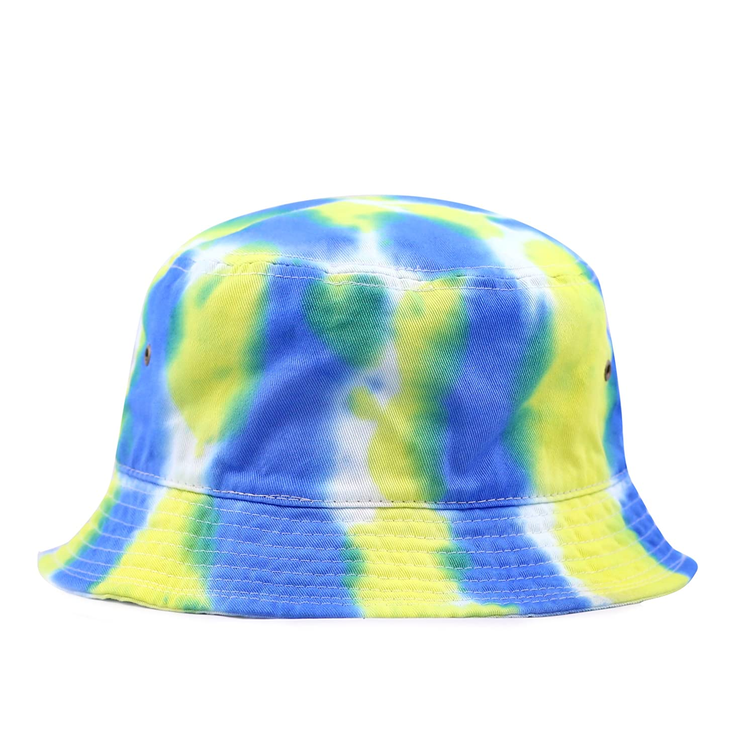 7e819ce17ac THE HAT DEPOT 300TD 100% Cotton Tie Dye Unisex Packable Summer Travel Bucket  Hat at Amazon Women s Clothing store