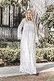 ModWhite Poppy White Temple Dress