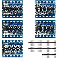XCSOURCE 5Pcs Iic I2C Logic Level Converter Bi-Directional Module 5V To 3.3V