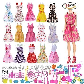 Kleidung & Accessoires Barbie Kleidung Puppen Kleider Accessoires Geschenk für Mädchen Kostüm Zubehör Babypuppen & Zubehör