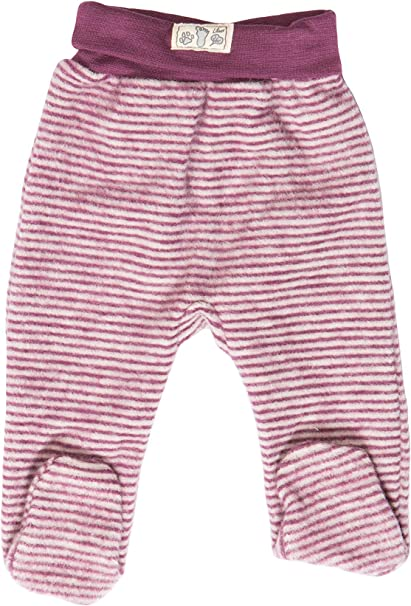 Made in Germany. Lilano Organic Merino Wool Baby Overall with Hood 340004