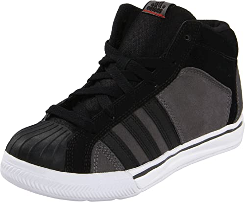 Black little Kidbig Sneaker Lace Kid Adidas Mid Superstar Up 64Xg18q