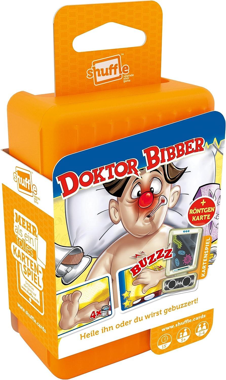 ASS Altenburger 22503371 – Shuffle Dr. Bibber, Juego de Cartas: Amazon.es: Juguetes y juegos
