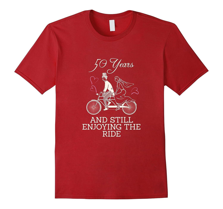 50th Wedding Anniversary T-Shirt Perfect for 50 Years Gift-Vaci