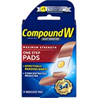Compound W Wart Remover One Step Pads, 14