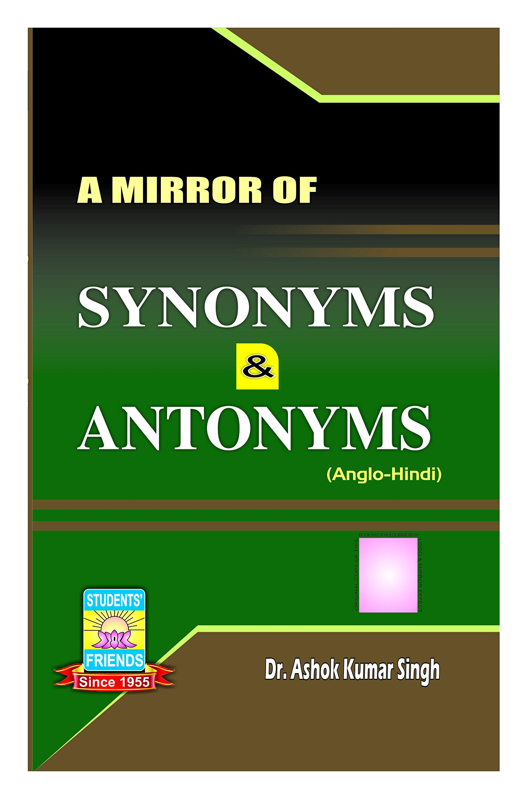 Buy A Mirror Of Synonyms & Antonyms Book Online at Low Prices in