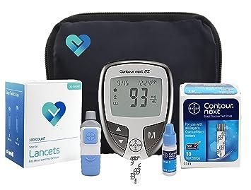 amazon com owell bayer contour complete diabetes blood glucose rh amazon com bayer glucose meter manual bayer glucose meter manual