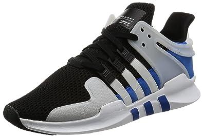 premium selection bcf61 b1543 Amazon.com | adidas EQT Support Advanced Black White Light ...