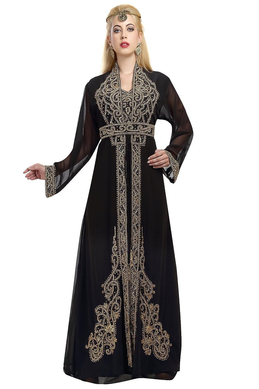 Moroccan Maghribi Thobe By Maxim Creation For Arabian Women 5794
