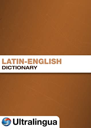 Amazon com: Latin-English Dictionary for PC [Download]: Software