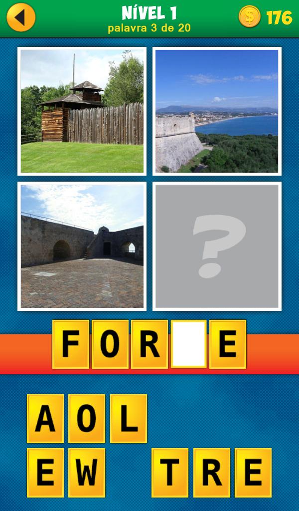 4 Fotos 1 Palavra Em Português