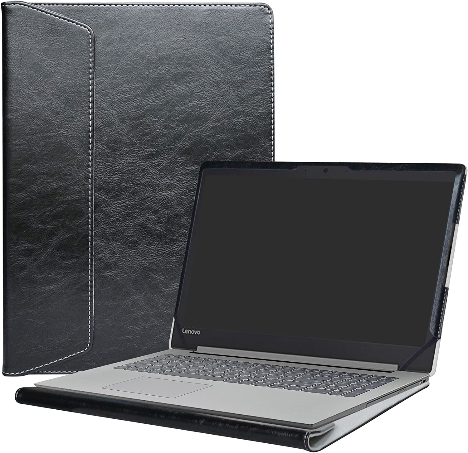 "Alapmk Protective Case for 15.6"" Lenovo Ideapad 320s 15 320s-15ikb/ideapad S145 15 S145-15IWL S145-14AST S145-14IGM Series Laptop [Note:Not fit Ideapad 320 15.6/Ideapad 530s 15.6 inch],Black"