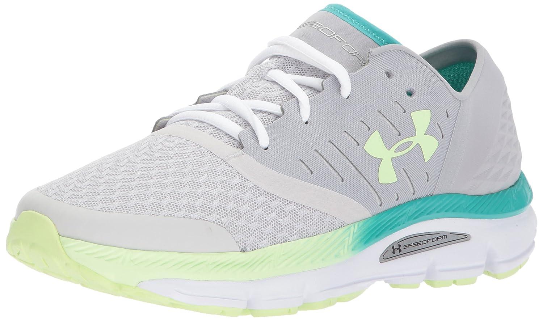 Under Armour Women's Speedform Intake Running Shoe, Black/Stealth Gray/White B01HYUHLFU 9.5 M US|Gray