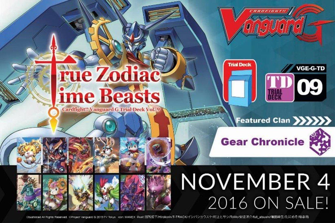 Amazon.com: Cardfight True Zodiac Time Beasts ENGLISH Trial Deck G ...
