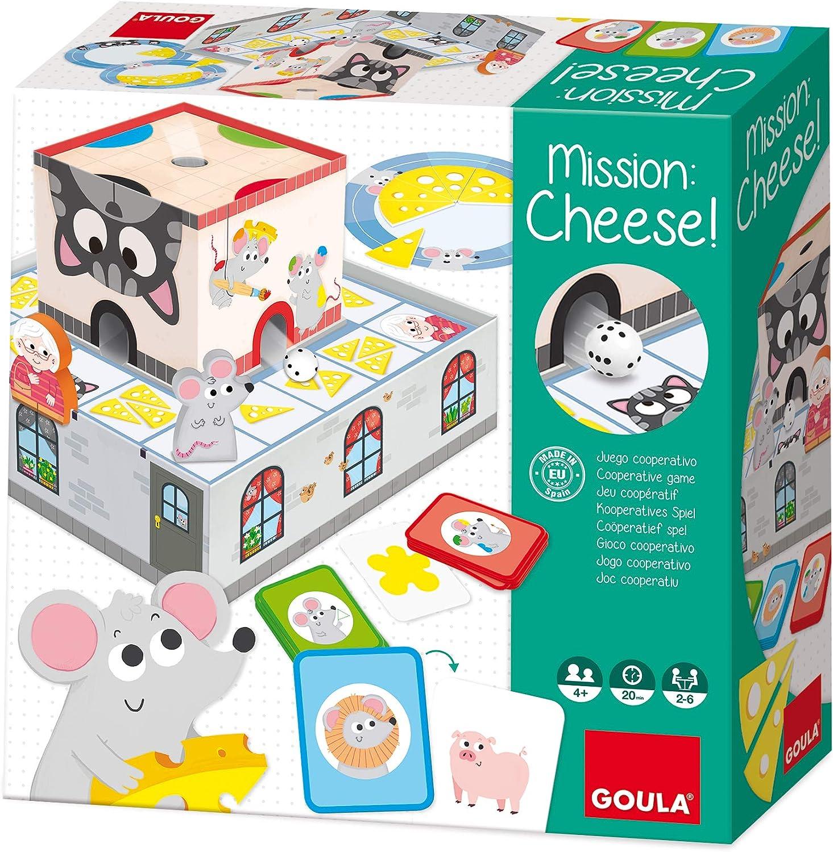 Goula- Mission Cheese, Multicolor (Ref. 53152): Amazon.es ...