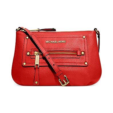 568f00b3440e0f Michael Kors Gilmore Crossbody in Mandarin: Handbags: Amazon.com