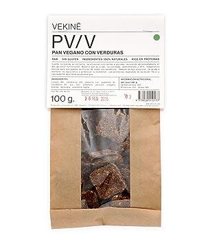 Pan esenio   Pan crudivegano VEKINE   6 unidades X 80gr: Amazon.es: Hogar