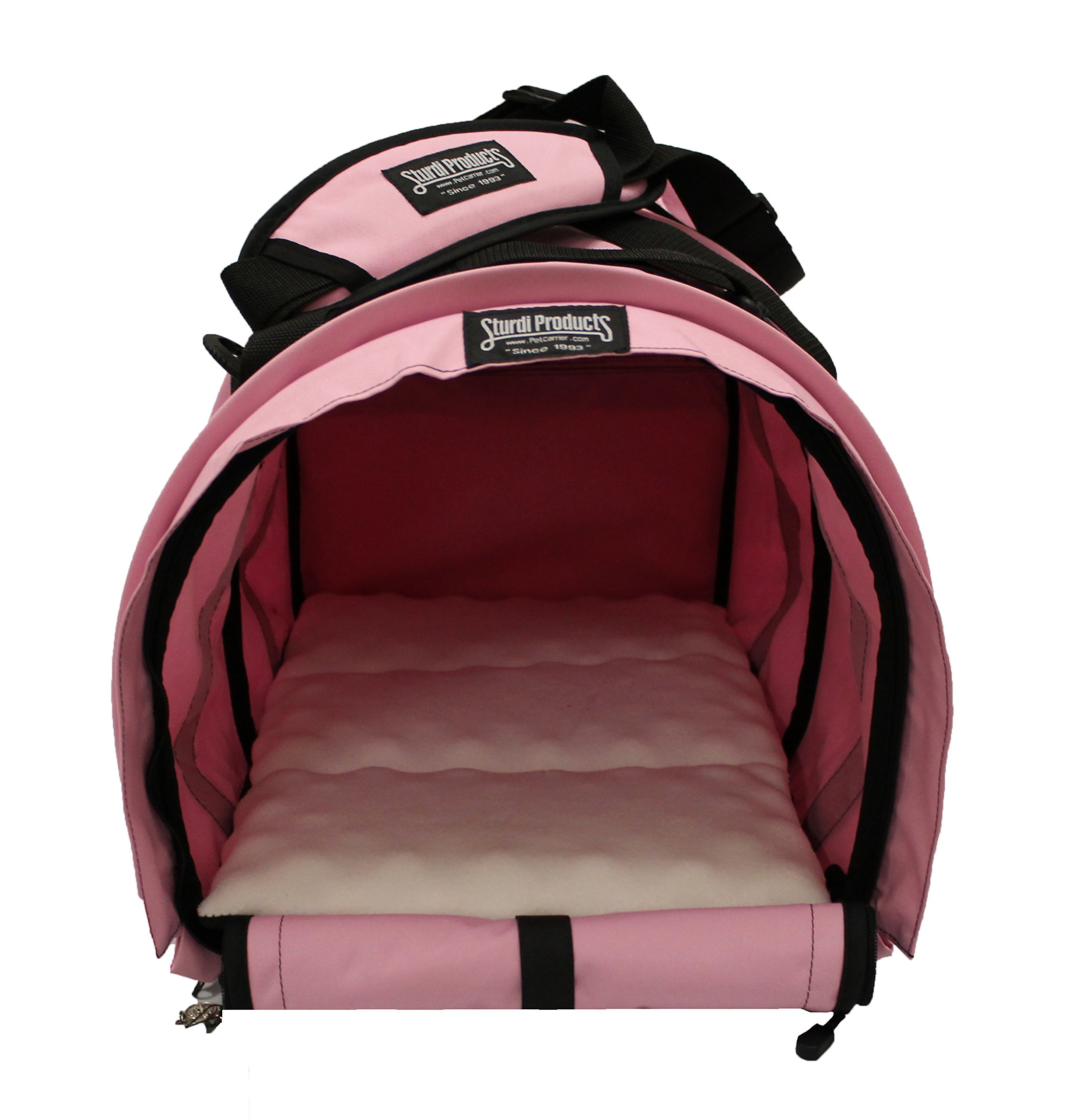 Sturdi Products SturdiBag Pet Carrier, X-Large, Soft Pink