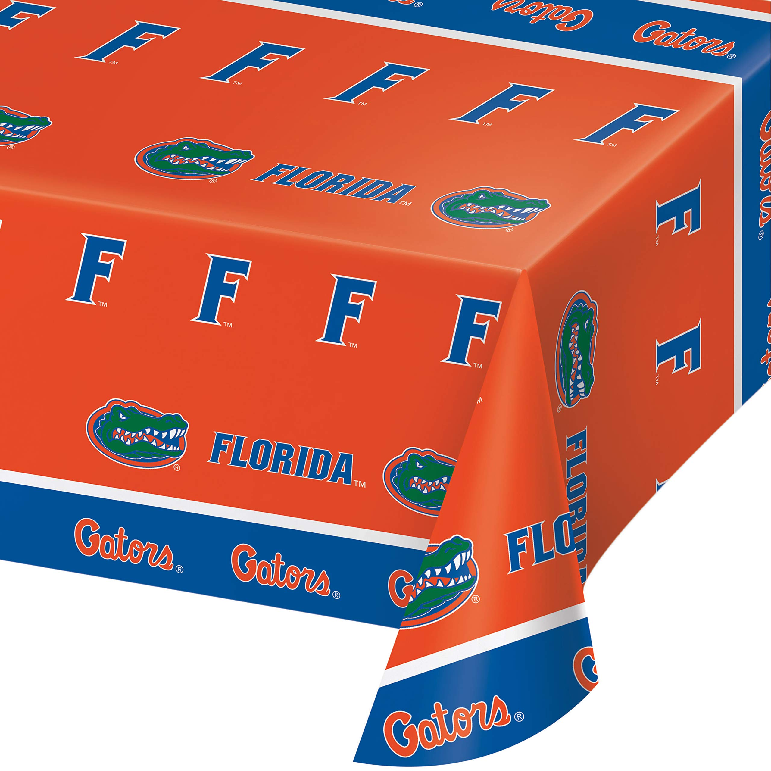 University of Florida Plastic Tablecloths, 3 ct by Creative Converting