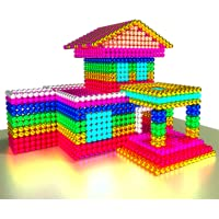 Houses Magnet World 3D - Build By Satisfying Magnetic Balls