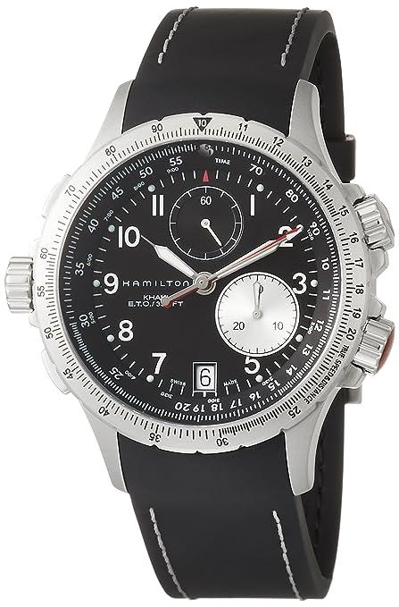 Hamilton H77612333 - Reloj analógico automático inoxidable para hombre: Amazon.es: Relojes