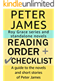 Peter James Reading Order and Checklist: A guide to the novels and short stories of Peter James
