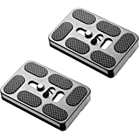 Neewer 2 Pieces Metal PU-60 60 Millimeter Universal Quick Shoe Plate with 1/4 inch Screw,Fits Arca-Swiss Standard for…