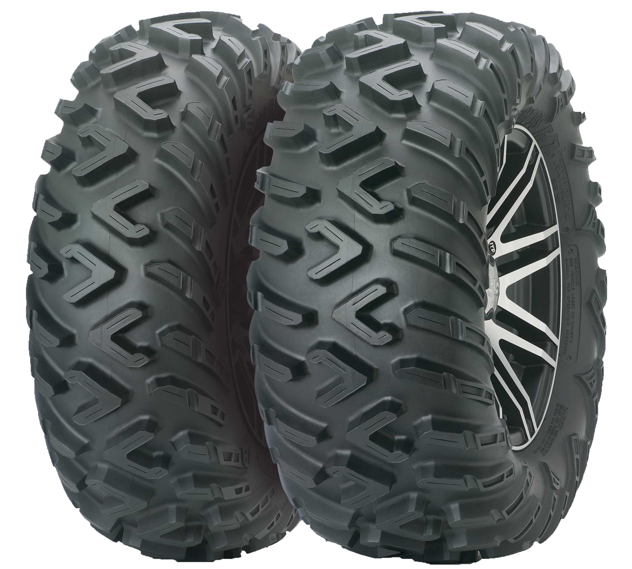 ITP TerraCross R/T Mud Terrain ATV Tire 25x8R12