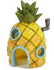 Pet Ting Décoration pour Aquarium Motif Bob l'éponge Ananas