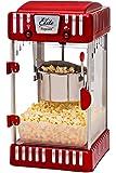 Elite Deluxe EPM-250 Maxi-Matic 2.5 Ounce Classic Tabletop Kettle Popcorn Popper Machine, Retro-Style, Red