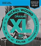 D'Addario EXL158 XL Nickel Wound Light  (.013-.062) Electric Guitar Strings