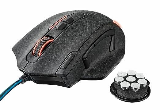 29 opinioni per Trust GXT 155 Mouse da Gioco Elite, con Pesi Integrati Personalizzabili e