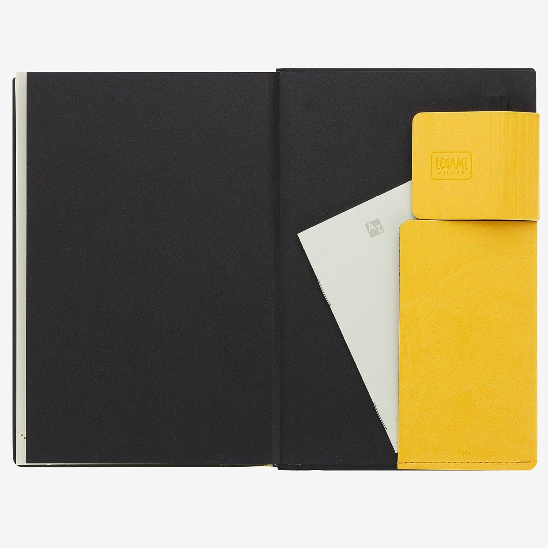 Agenda 2018 12 meses color amarillo semanal y diaria Legami AG121725