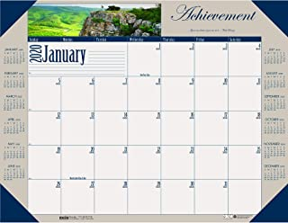 product image for House of Doolittle 2020 Monthly Desk Pad Calendar, Motivational, 22 x 17 Inches, January - December (HOD175-20)