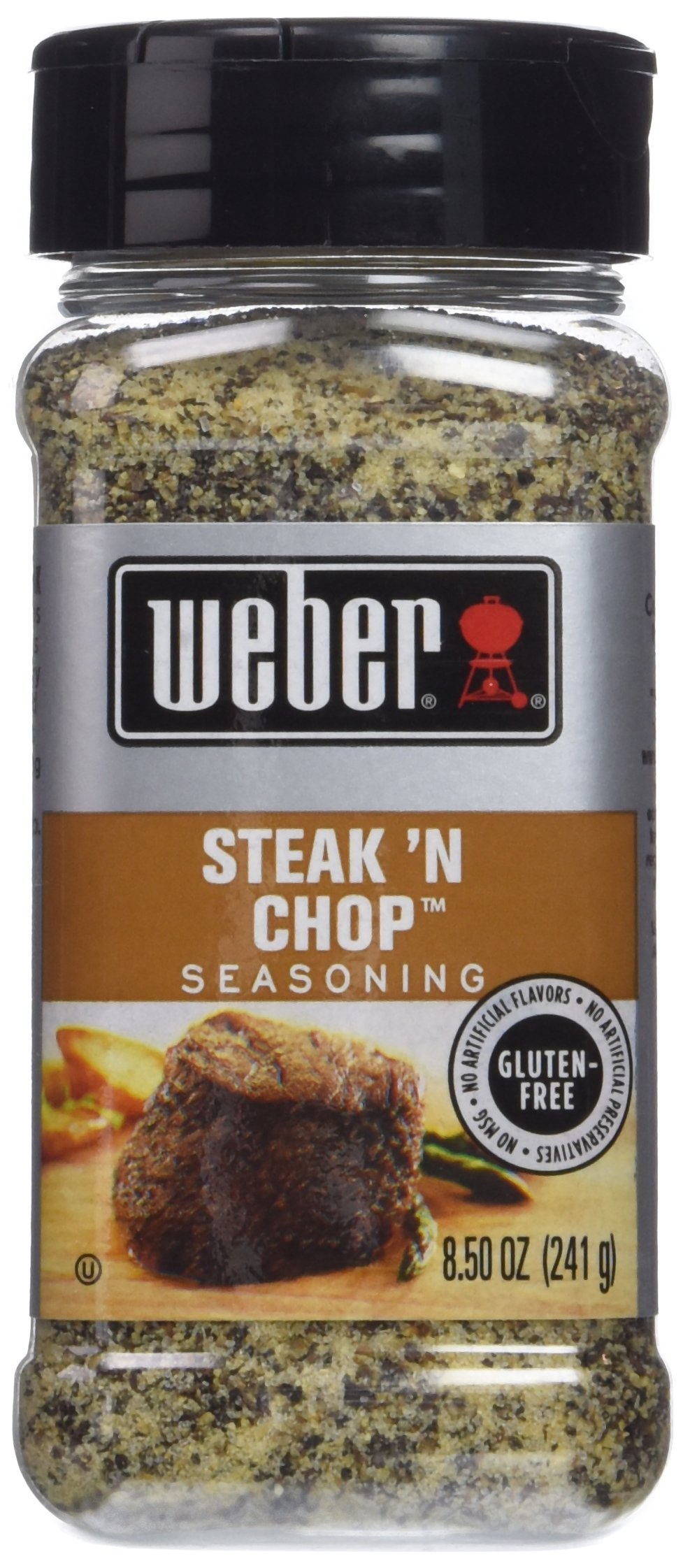 Weber Steak N' Chop Seasoning 8.5 oz (Pack of 2)