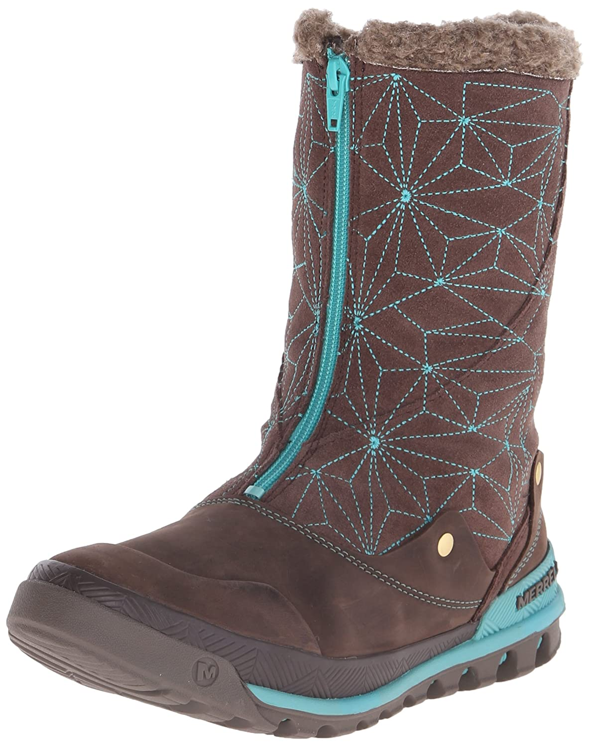 Merrell Women's Silversun Zip Waterproof Winter Boot B00R4L8V0Y 10 B(M) US|Bracken