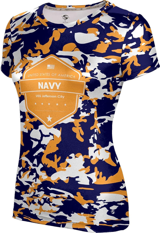 ProSphere Women's USS Jefferson City Military Camo Tech Tee
