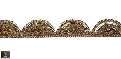 Zenith One Side Gilliter Pankha Coding, Embroidery, Ethnic