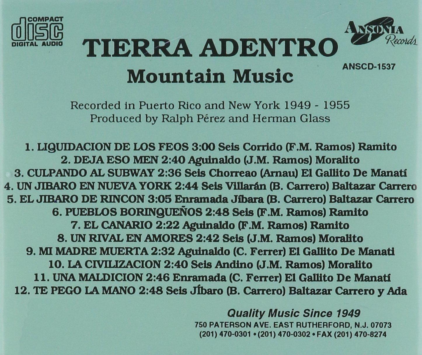 Tierra Adentro by Ansonia