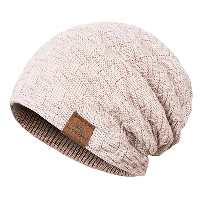 Page One Men Slouchy Beanie Hat Fashion Styles And Colors Fleece