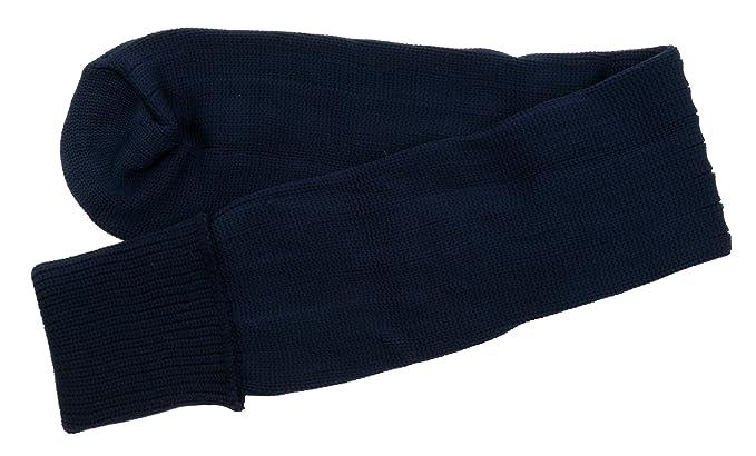 Zest - 1 par calcetines de fútbol infantiles, Niños-Niñas Mujer Niñas Niños, color azul marino, tamaño 37: Amazon.es: Ropa y accesorios