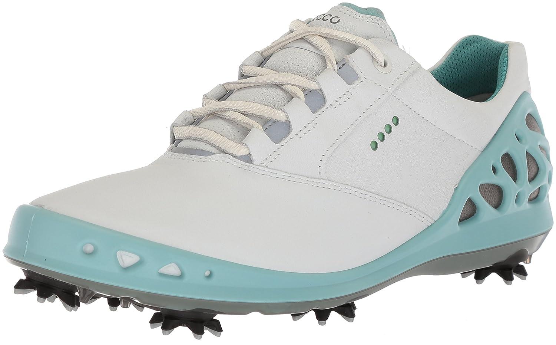 [エコー] ゴルフシューズ GOLF CAGE レディース 22.0 cm WHITE/AQUATIC B074F8TLCX