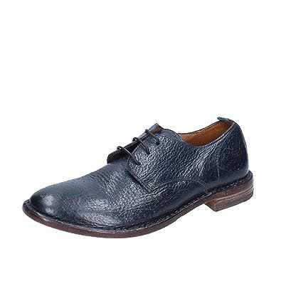 4b1268ef43e7 MOMA Elegante Damen 37 EU Blau Leder  Amazon.de  Schuhe   Handtaschen