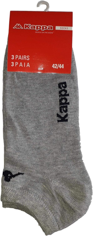 calzini fantasmini invisibili calzini sneakers in cotone vari assortimenti. 6 paia calzini KAPPA 42-44, 6 paia bianco modello unisex