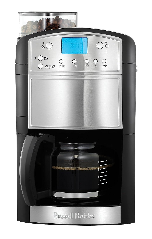Russell Hobbs 14899 Platinum Grind y Brew Cafetera